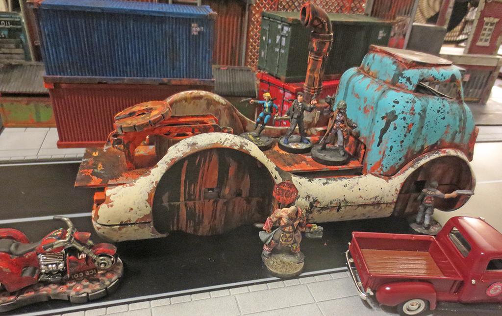 Fallout COE Truck Wreck by JordanGreywolf