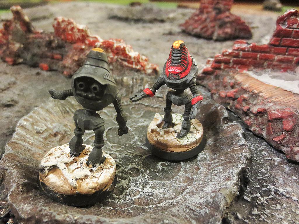 Fallout Protectrons (Brother Vinni) by JordanGreywolf