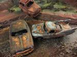 Junked 'Cars' Cars