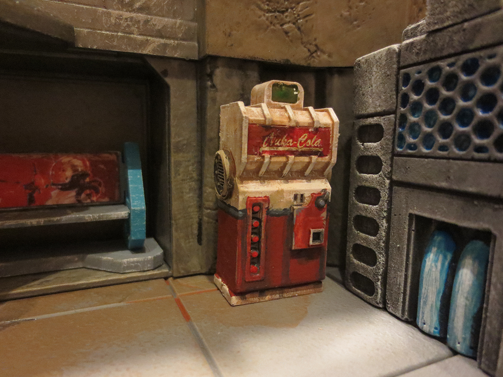 nuka cola vending machine fallout 3 new vegas by jordangreywolf on