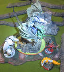 McFarlane Dragon as IKRPG Fog Drake