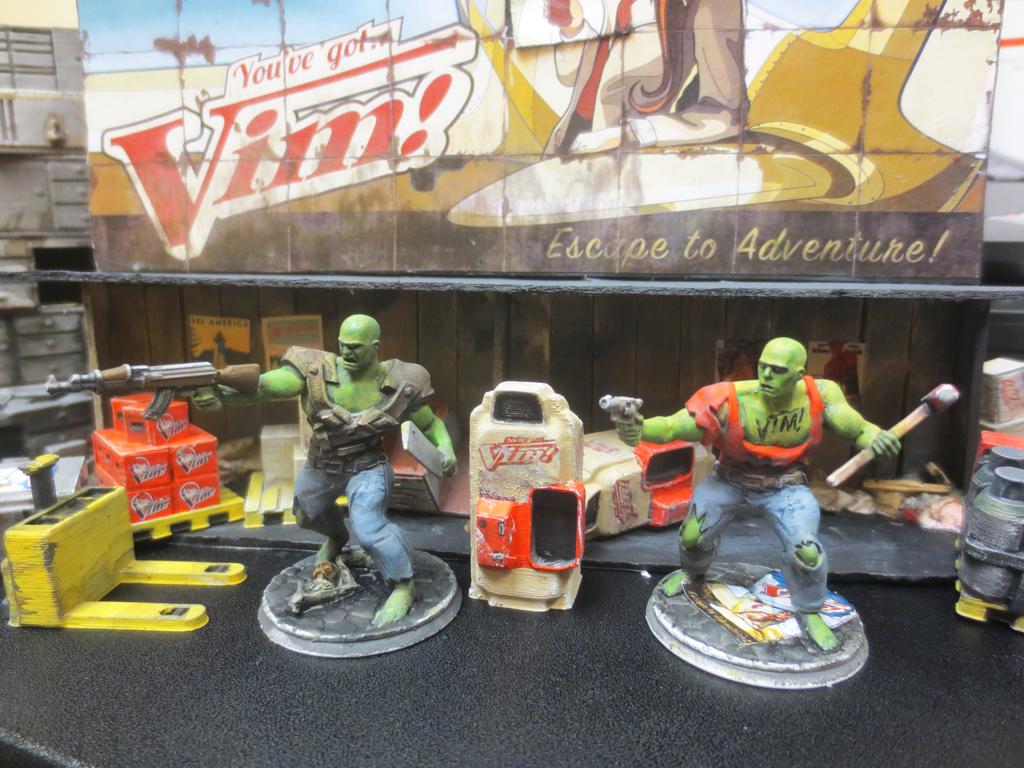 Super Mutants Vim and Vigor by JordanGreywolf