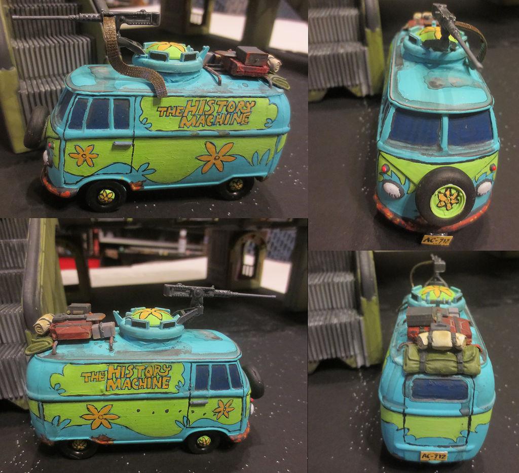 The History Machine, Post-Apocalyptic Van