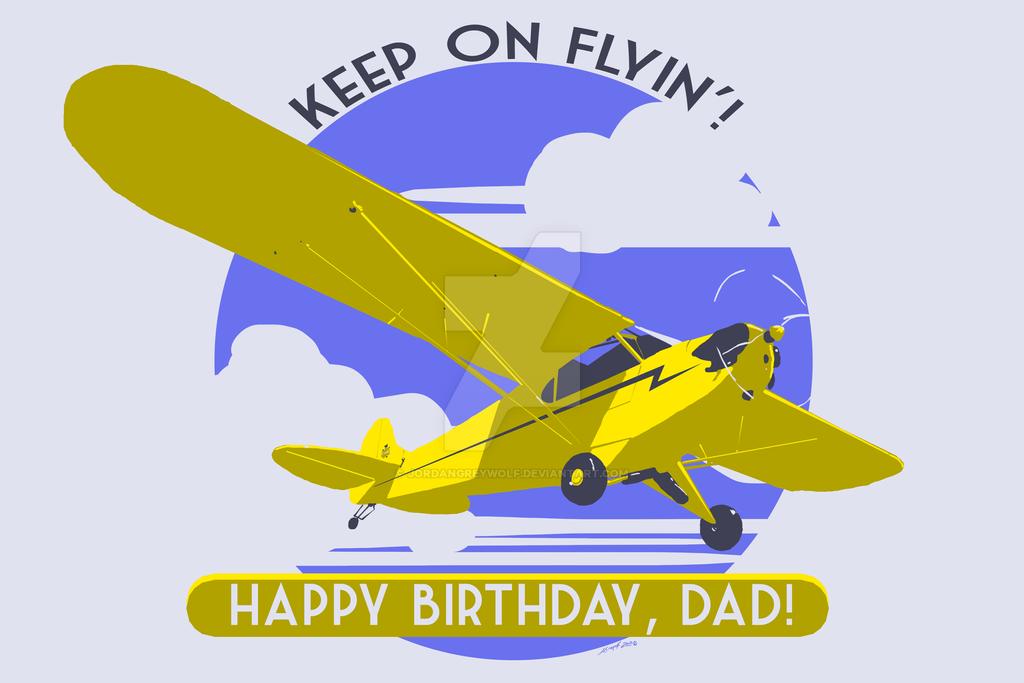 Happy Birthday, Dad! by JordanGreywolf