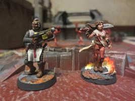 Deadlands Hell on Earth Knights Templar by JordanGreywolf