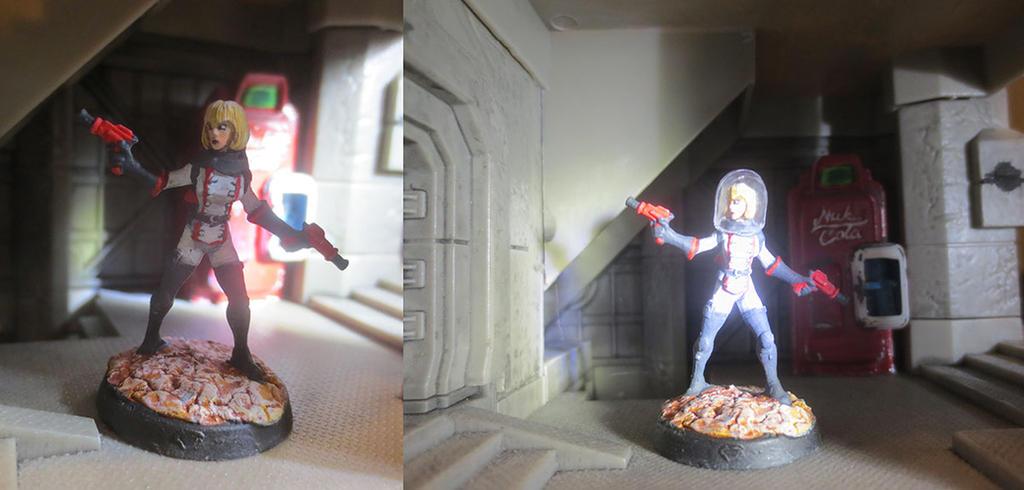 Nuka Girl, Space Heroine (Chronoscope #50227) by JordanGreywolf