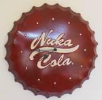 Custom Nuka-Cola Wall Clock