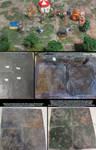 Forgotten City Tiles for Pathfinder Outdoor Grid