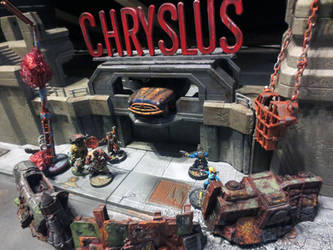 Chryslus Motors Fortress by JordanGreywolf