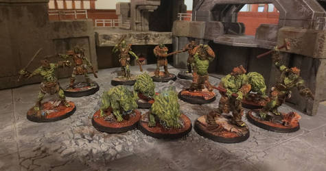 Super Mutant Horde by JordanGreywolf