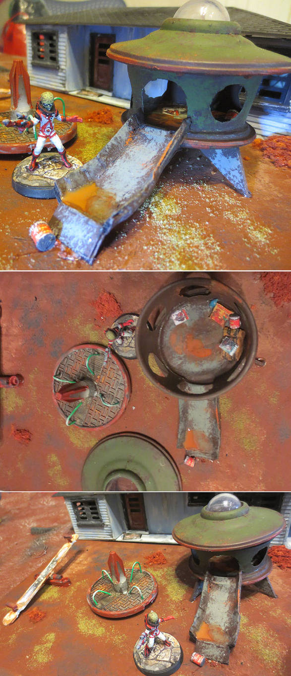 Post-Apocalyptic Playground Invader by JordanGreywolf
