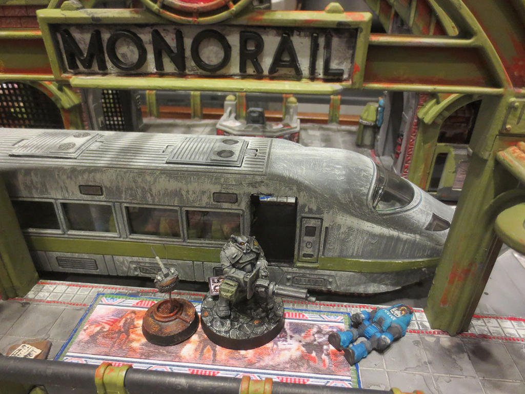 Enclave at the Monorail Station