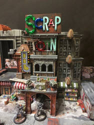 Scrap Town Settlement by JordanGreywolf