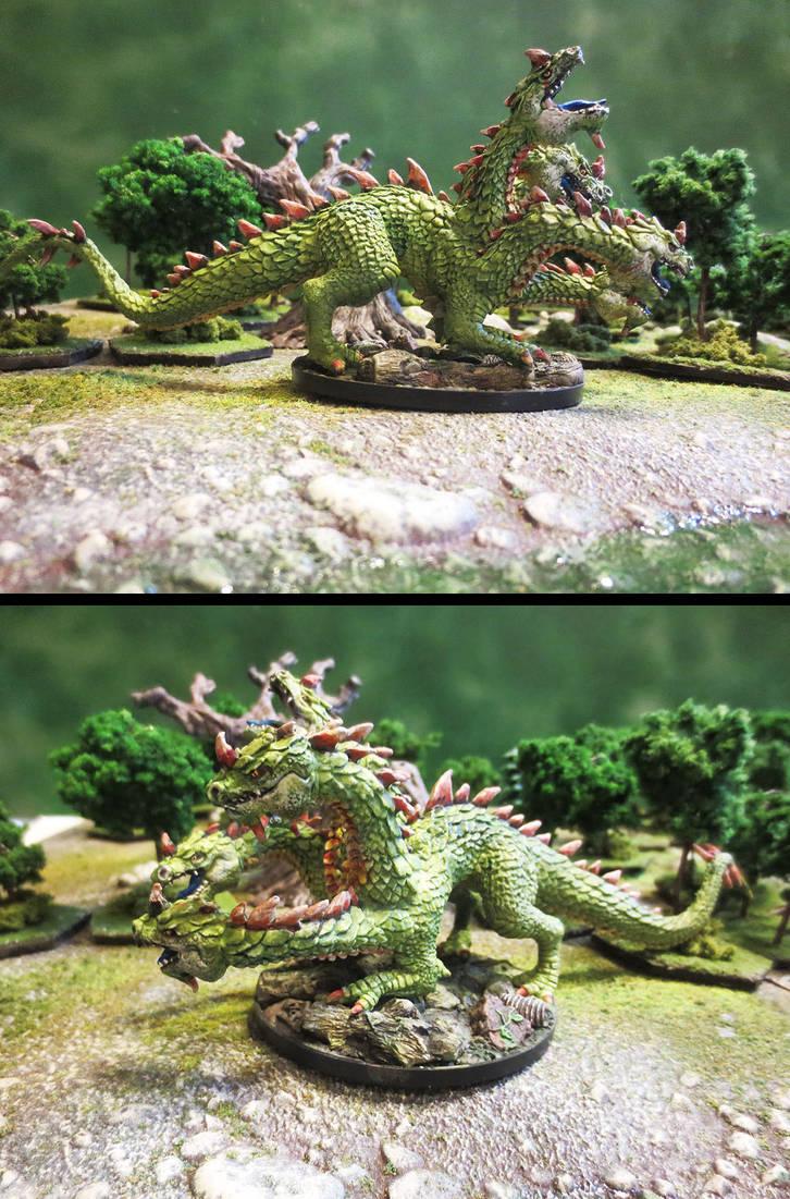 Quincy the Swamp Hydra by JordanGreywolf