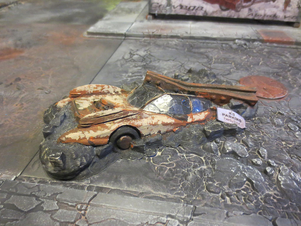 no_parking__crushed_car_wreck__by_jordan