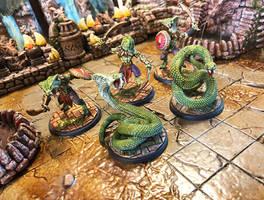 3D-printed Snake Man Champions