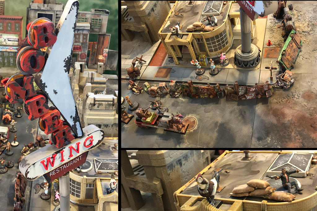 Bomber Wing Details (Alternate Views)