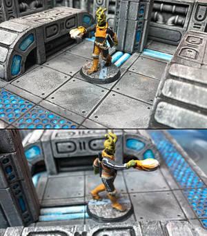 Starfinder Lashunta Solarion Adventurer
