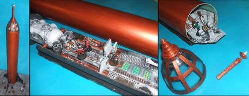 Slipstream Retrofuturistic Rocketship