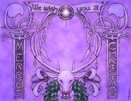 ... and a Happy New Deer (2020 Christmas Card)