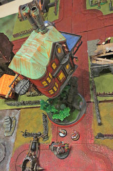 Dancing Hut of the Old Witch (of Khador)