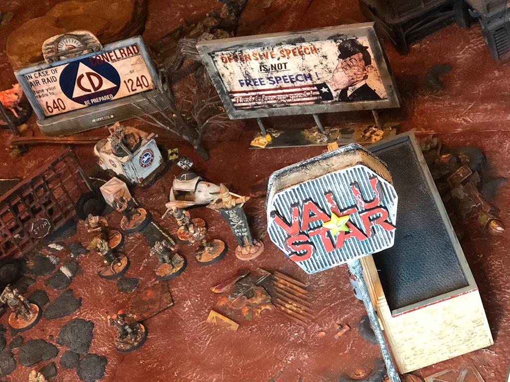 Fallout Raider Checkpoint Gate