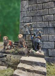 Firbolg Priest of Kelemvor and War Dogs