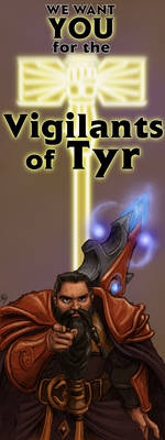 Vigilants of Tyr (Vertical Banner)