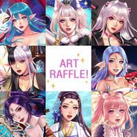 Art Raffle for my Watcher by A1-KANA
