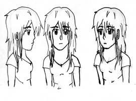 Face study by blakrosebleedinheart