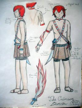 The Crimson Demon AKA Seamus O'Hurlehy