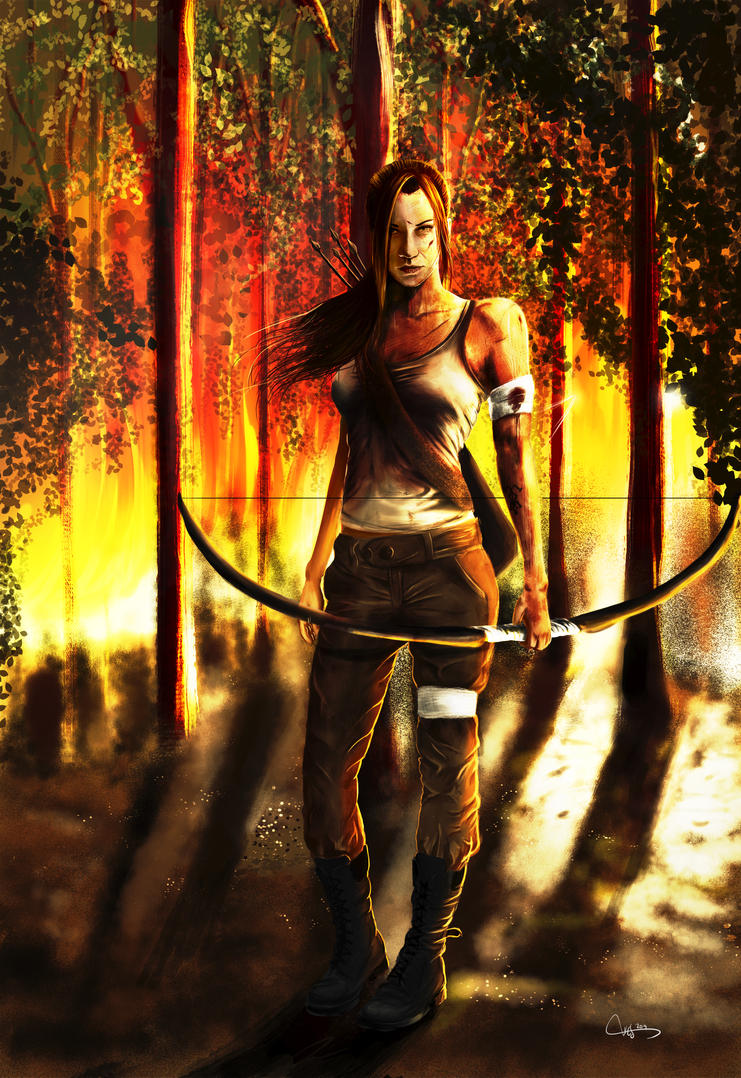 tomb raider reborn by wes209