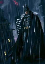 Dark Knight ALMOST repainted by MrHarp