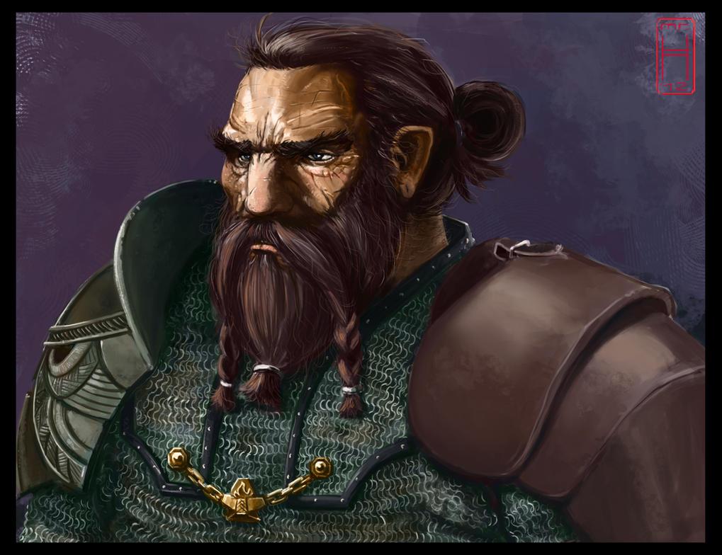 Dwarf Portrait by MrHarp