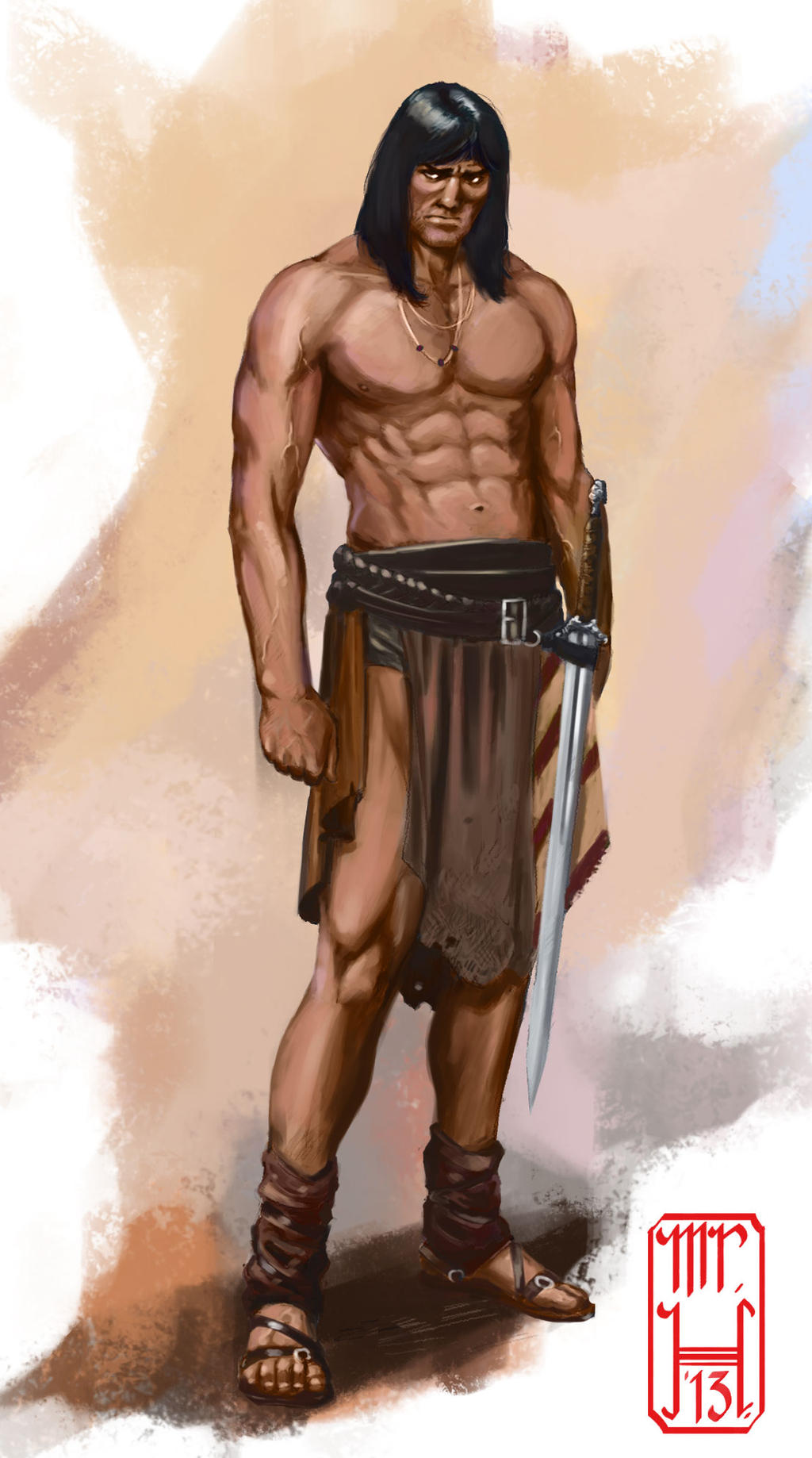 Conan character concept by MrHarp