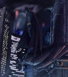 Batman - Night Watcher by MrHarp
