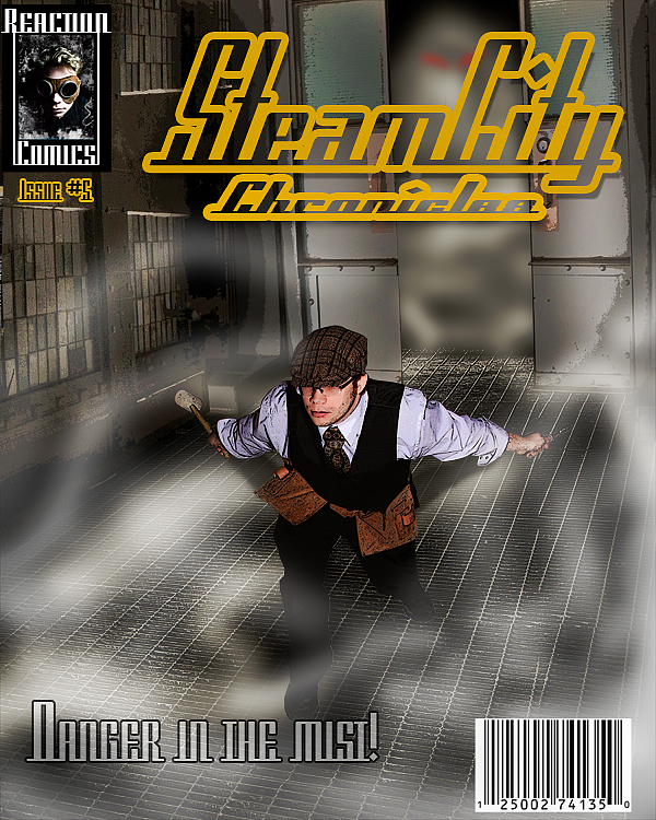 SteamCity Comic by keosuki