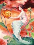 Dahlia Dream by maria-jaujou