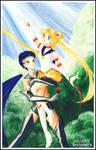 Sailor Moon :: Seiya and Usagi