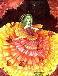 Autumn Waltz by maria-jaujou