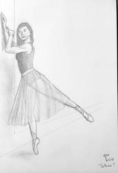 Ballerina 5 sketch