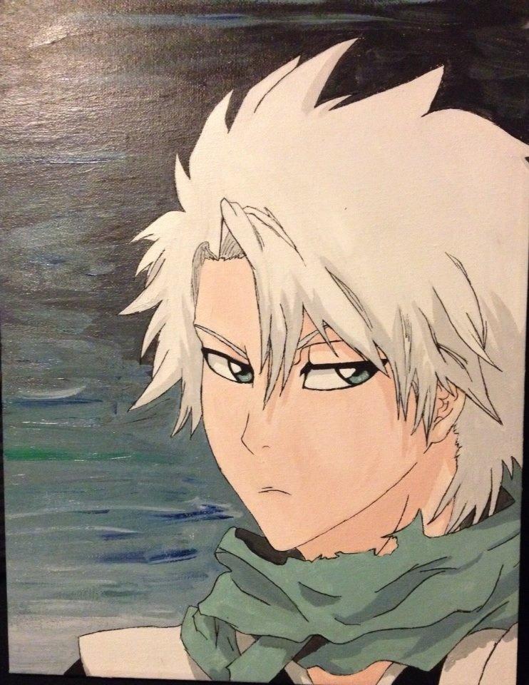 Painted Toshiro-kun by martha1101