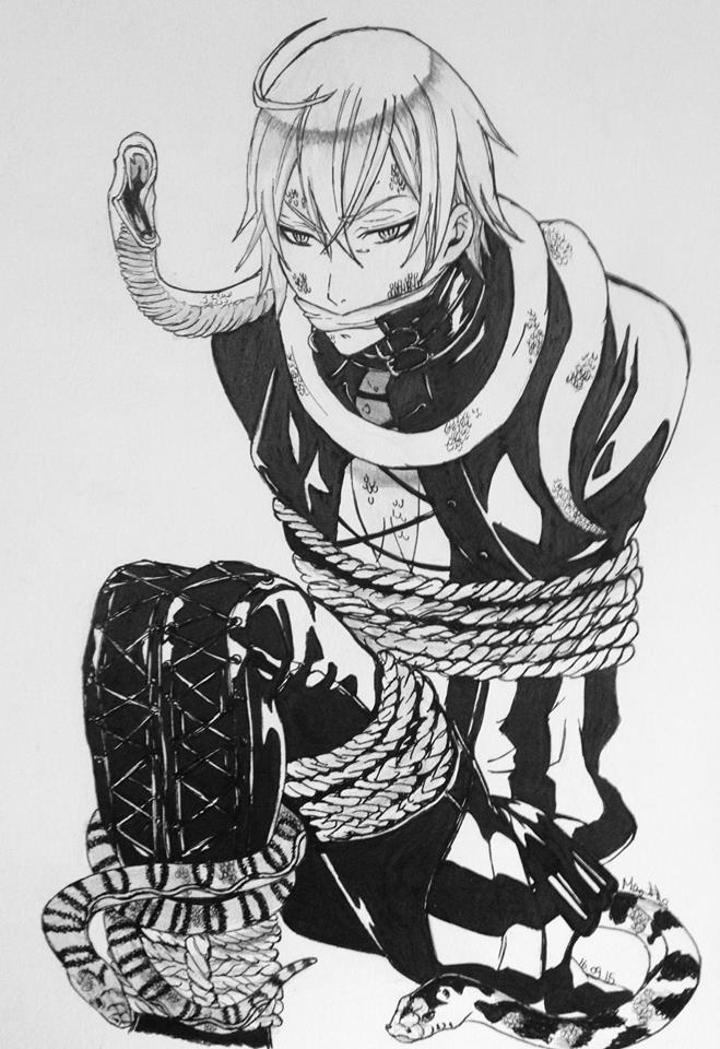 Snake_Kuroshitsuji by martha1101