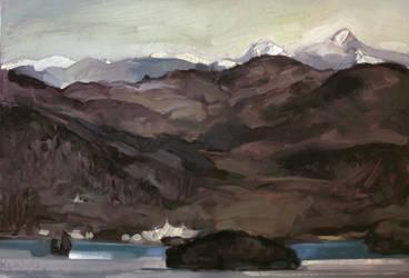 Brisk Peaks by Klang17