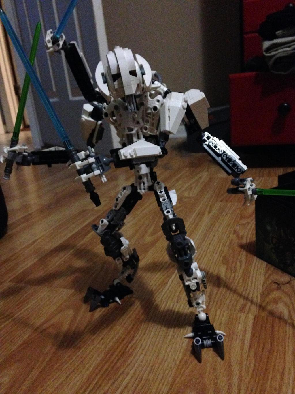 Lego General Grievous By Legofan24 On Deviantart