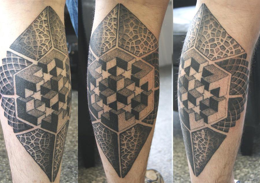 Dotwork Tattoo by DotworkDamian