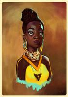 The African Girl by slvsgtt