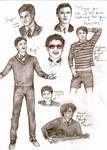 Darren Criss Doodles