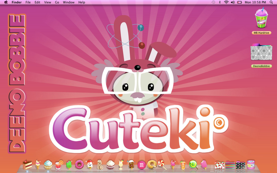 Cute Mac Dock Cute Mac Icons By Bpowell