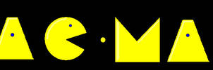 Pacman title by mattyhex